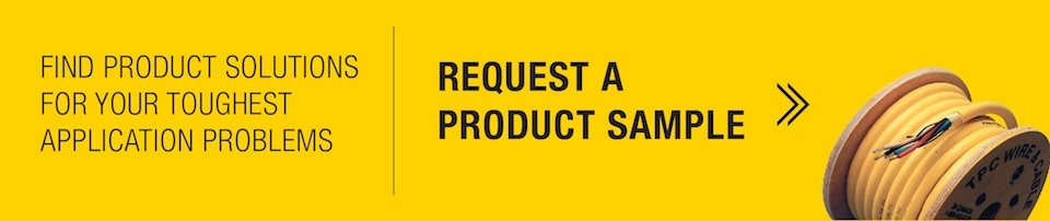 request a product sample from tpc to find product solutions for your toughest application problems